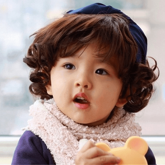 curly hairstyles for toddlers