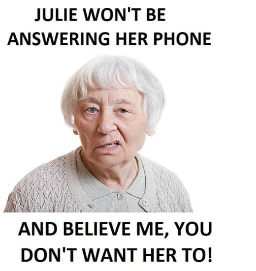 funny woman on phone meme