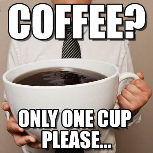 hilarious meme regarding I need coffee