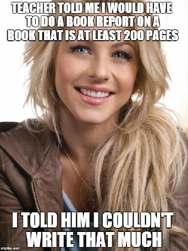 memes for blonde girls