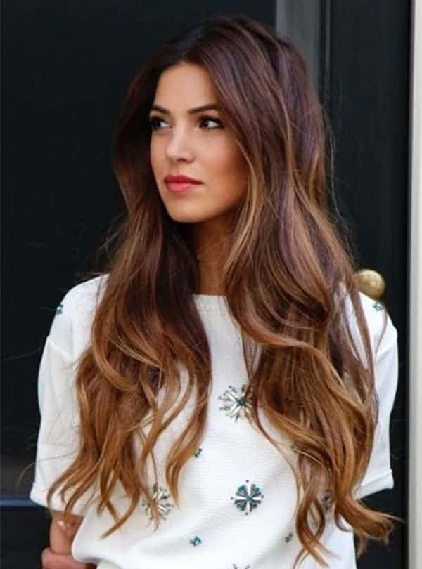 long ombre highlights