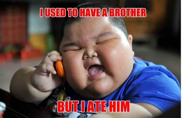 hilarious meme for your little brother