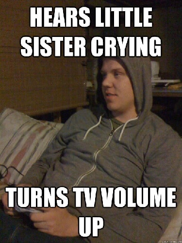 funny memes for older brother