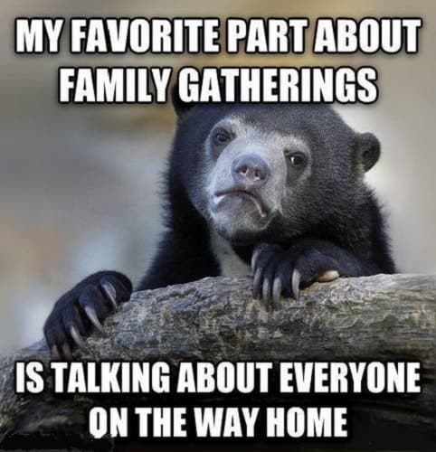 funny memes about family