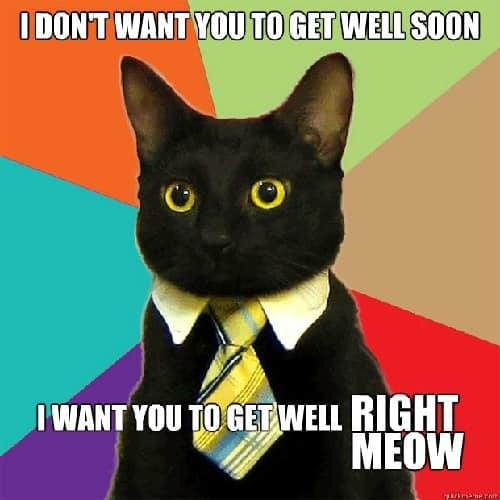 funny get well soon meme