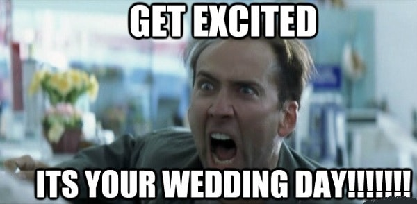 humorous wedding memes to laugh
