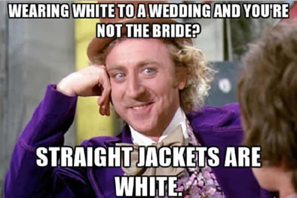 funny memes regarding wedding