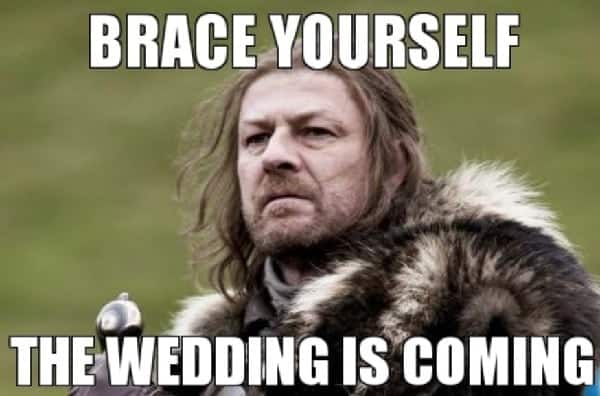 funny memes about wedding