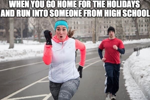 memes about running girl