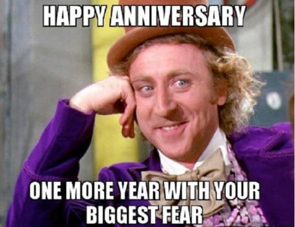 funny anniversary meme that makes you laugh
