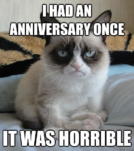 funny happy anniversary memes to laugh