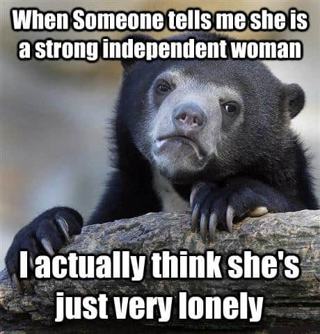 memes about independent woman
