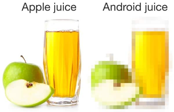 popular iPhone vs Android memes