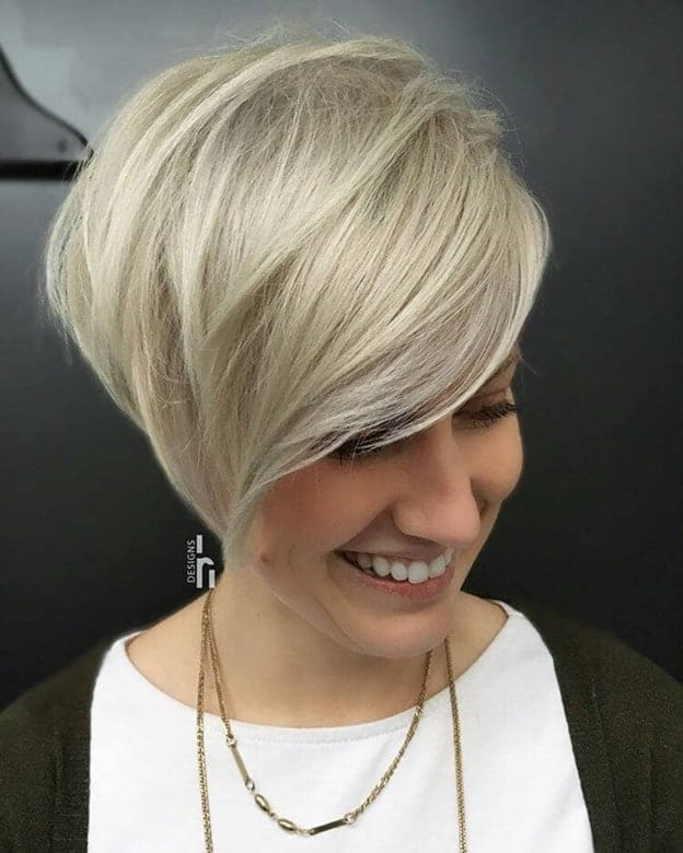 blonde pixie cut for women