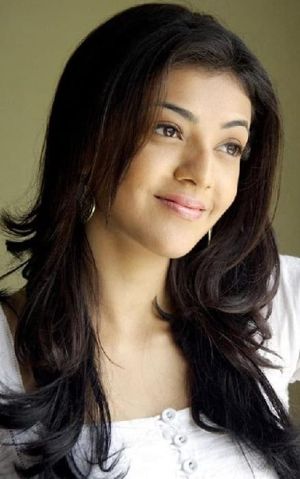 Kajal Agarwal's Feathered Hairstyle