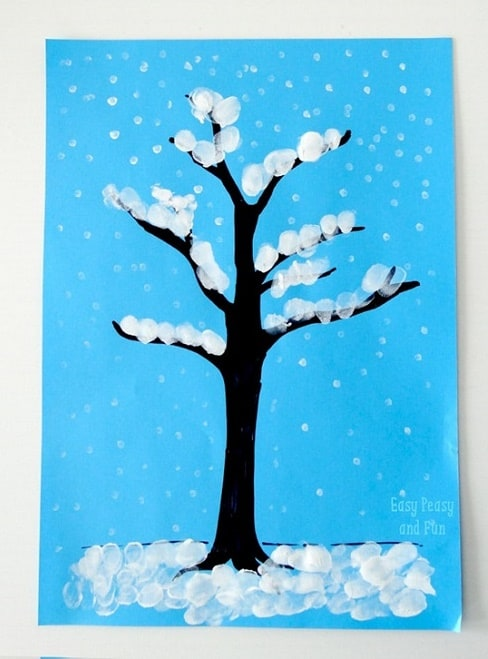 beautiful finger paint ideas