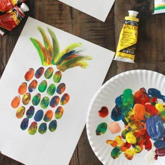 cutest finger painting ideas for toddlers