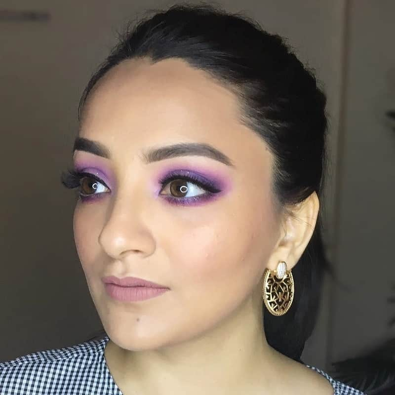 Evergreen Purple Shade for Brown Eyes
