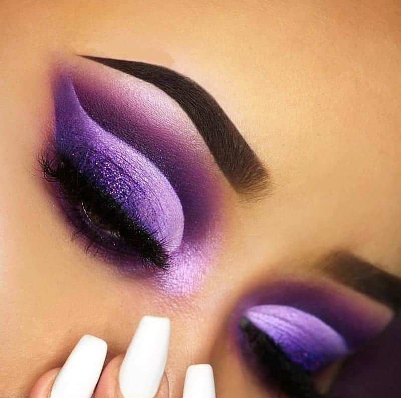 purple eyeshadow for women with brown eyes