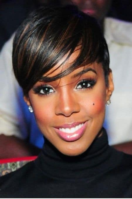 The Straightened Texturized Bangs for Black Women