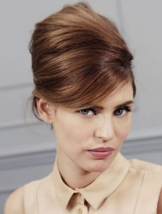70's Beehive Hairstyle