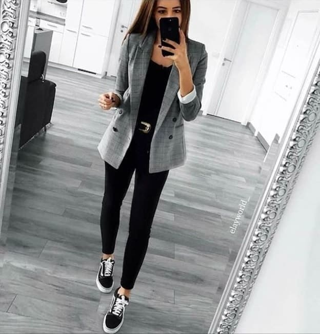 blazer outfit for teenage girls