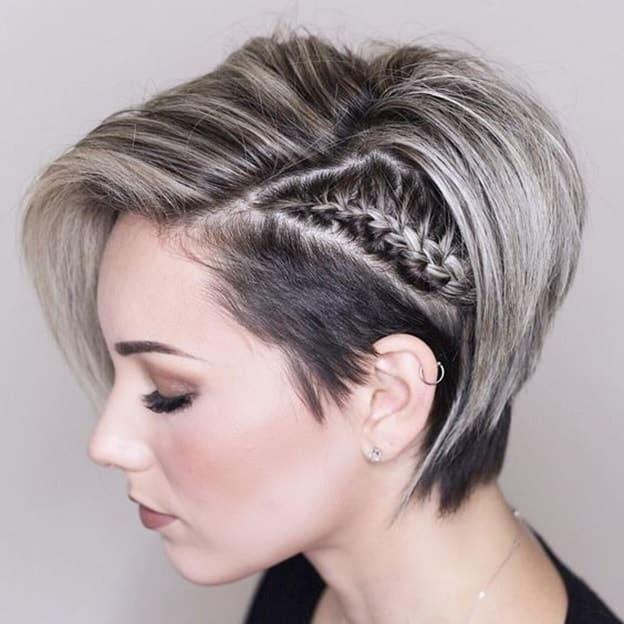 Graduated Bob With Undercut for Women with Fine Hair