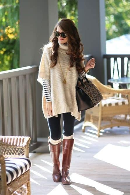 cute knee high boots outfit