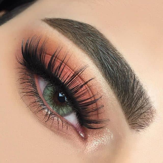 best makeup for green eyes and brown hair