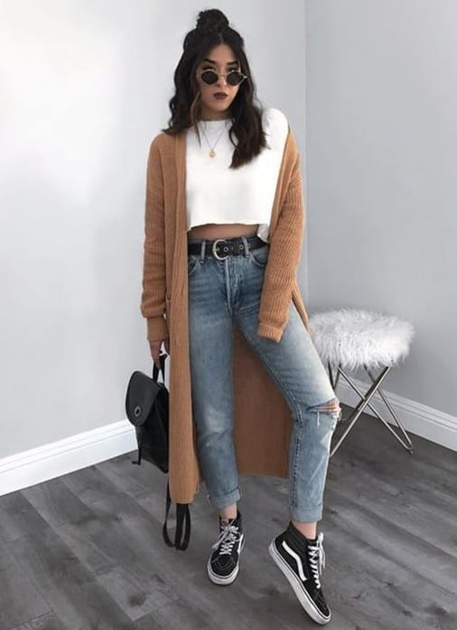 outfit simple outfits sheideas pull any trend