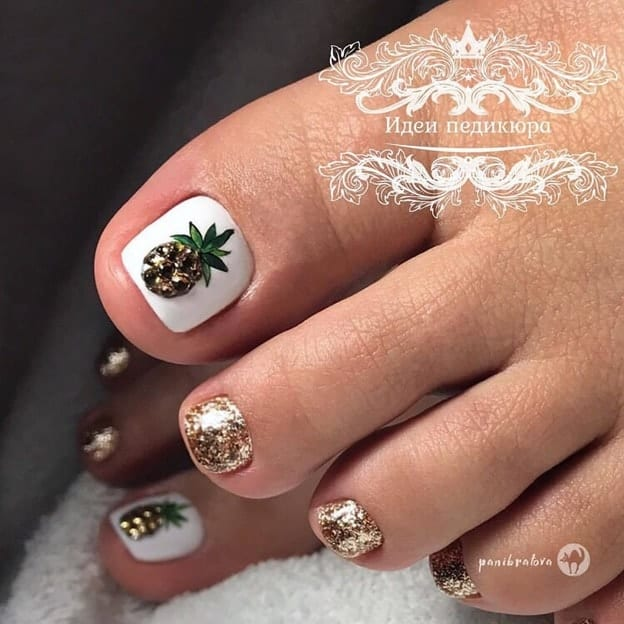 pedicure designs with fruits