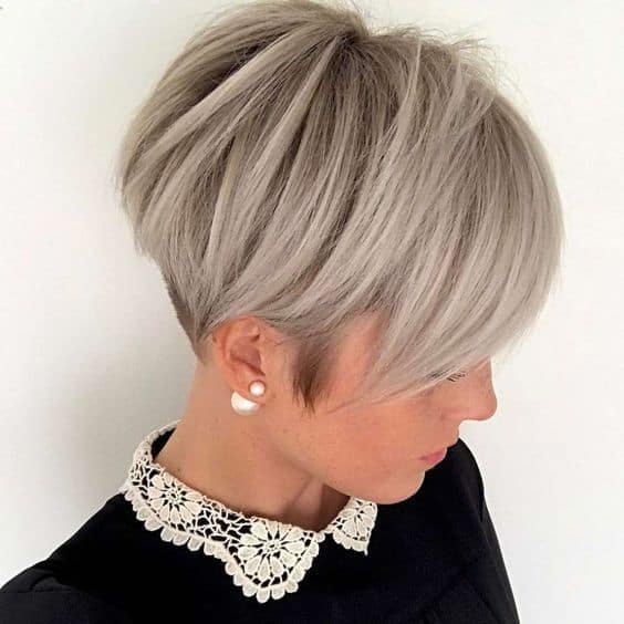 layered pixie cut for women