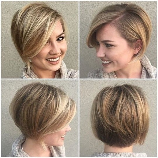 side parted pixie hairstyles for thin hair