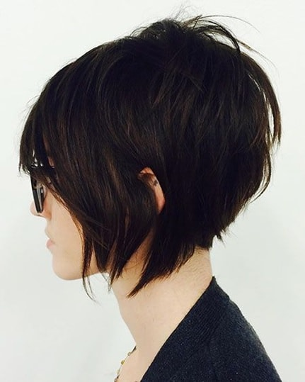 long pixie cut for women