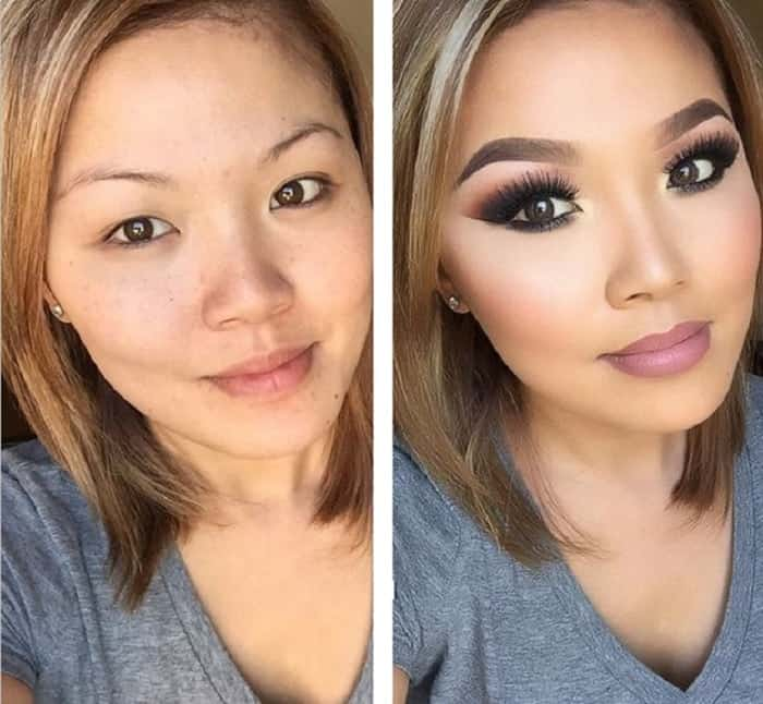Dramatic Makeup Transformations: 31 Before and After Looks ...