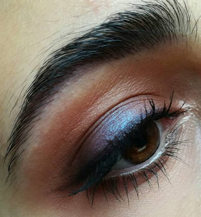 makeup ideas for dark brown eyes