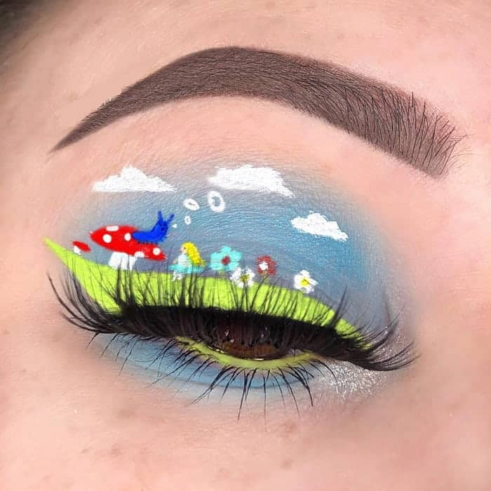 Scenery Eye Makeup Art for Women
