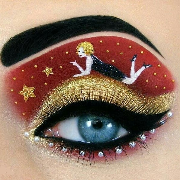 amazing eye makeup art