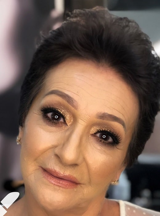 Brown Smokey Eye Makeup For Older Women