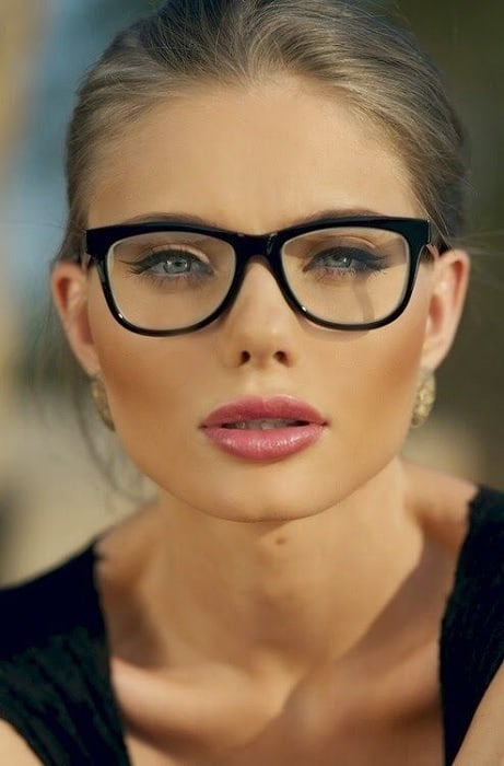 cute eye makeup for glasses