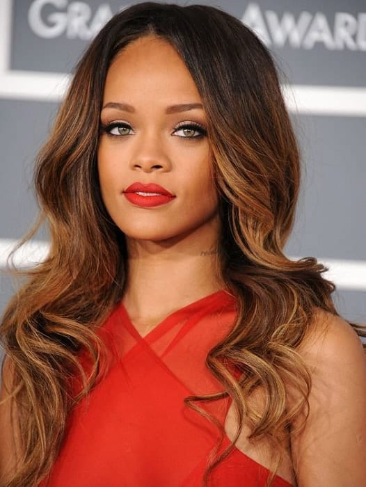 best red dress makeup for brown skin