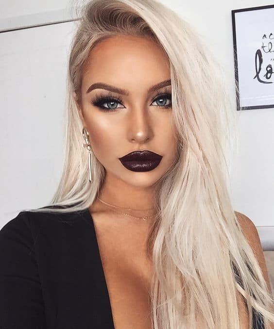 best makeup ideas for black dress