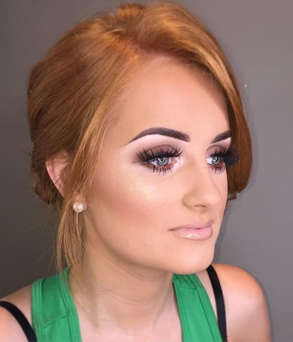 eye makeup for redheads