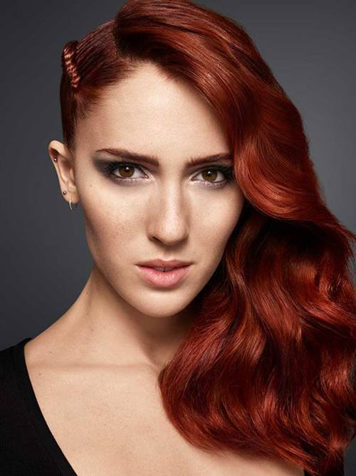 natural makeup for redheads