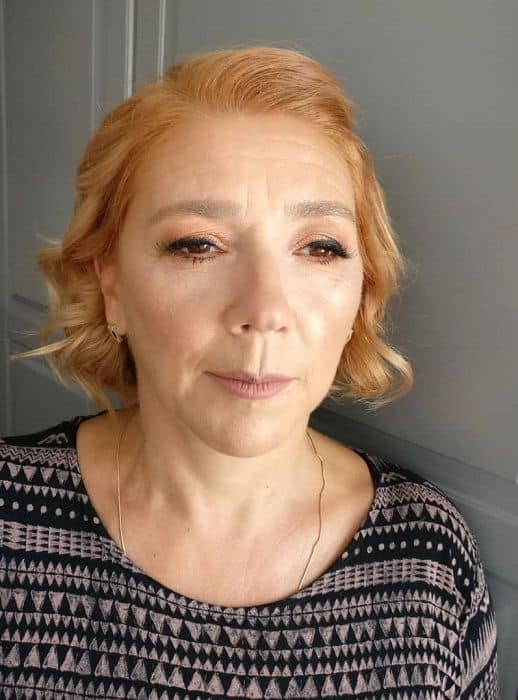 women over 50 with makeup