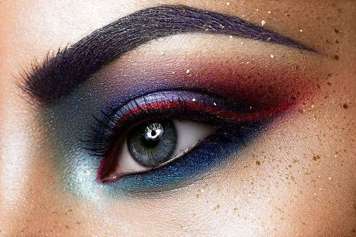 frosty ombre eyeshadow for women