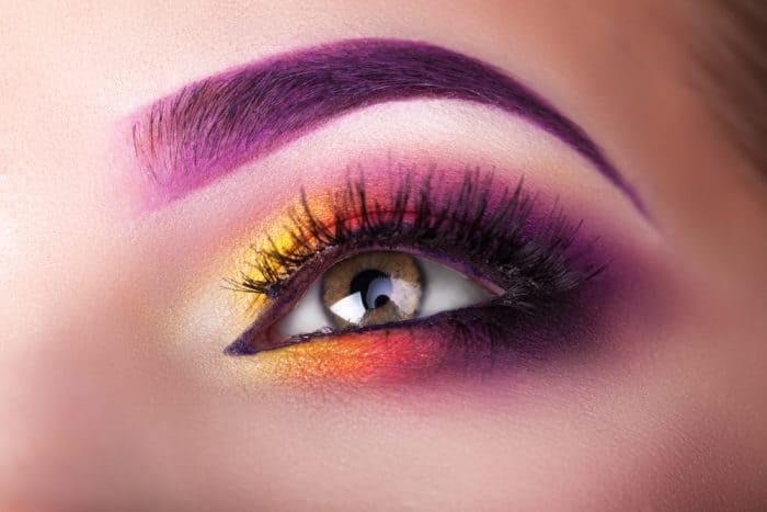 funky ombre eye makeup for women