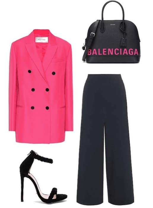 pink polyvore outfit for women