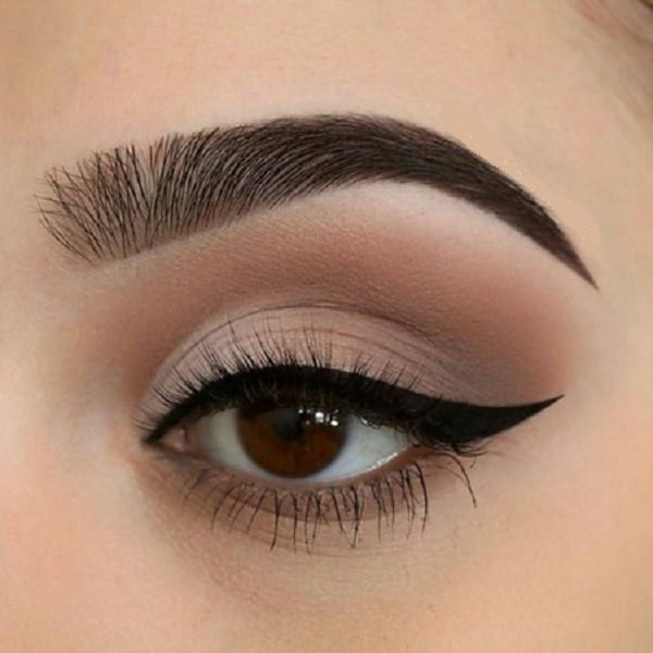 Natural Matte Eyeshadow Look for Girls