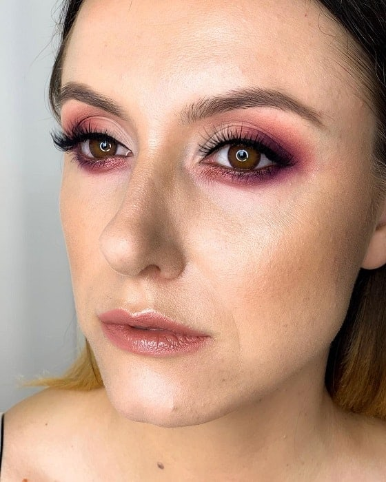 Pink Eye Makeup looks for brown eyes